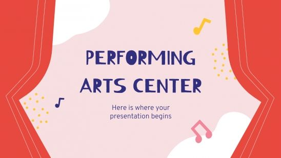 Performing Arts Center presentation template