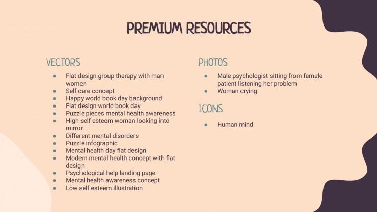 Modelo de apresentação Pesquisa sobre depressão