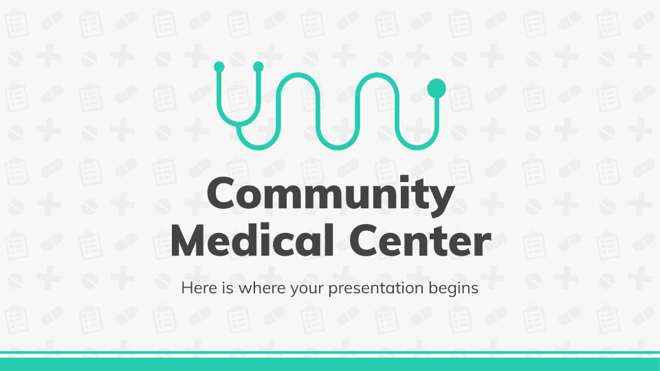 Community Medical Center presentation template