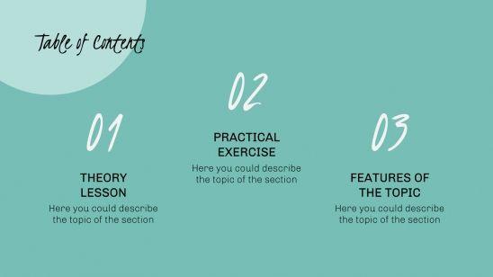 Atelier de poésie : Modèles de présentation