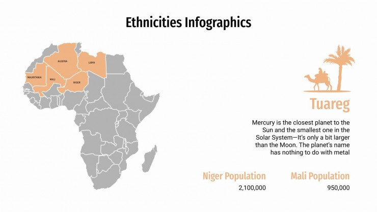 Ethnicities Infographics presentation template
