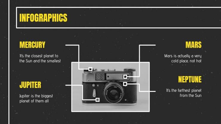 Modelo de apresentação Mês da fotografia nacional