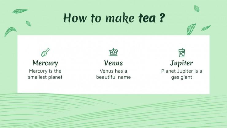 Boseong Green Tea Festival presentation template