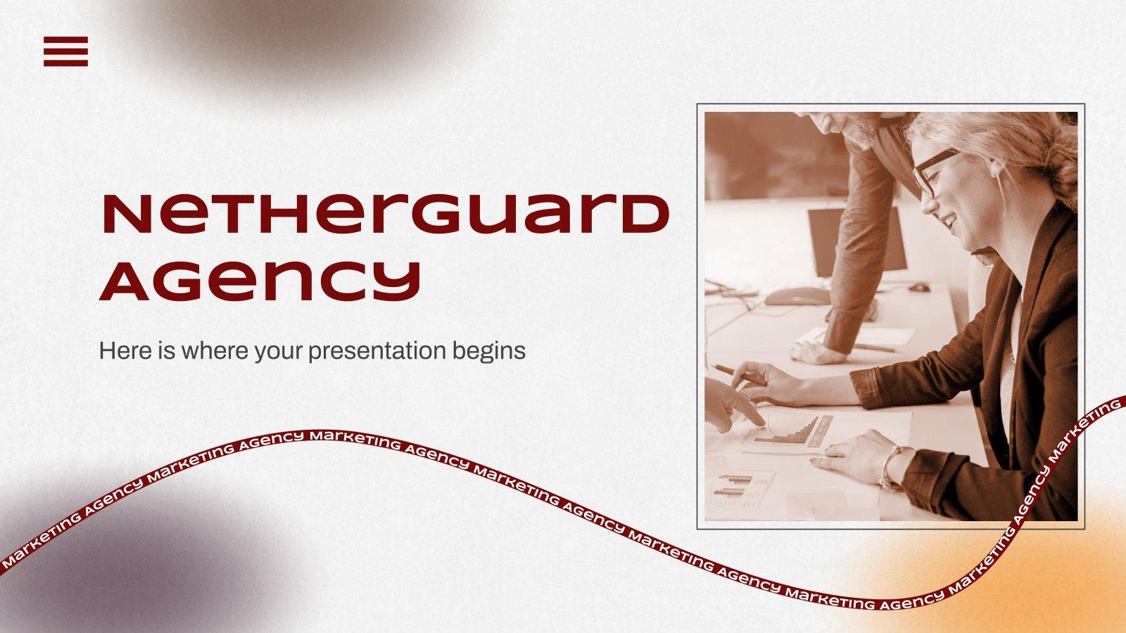 Modelo de apresentação Agência Netherguard