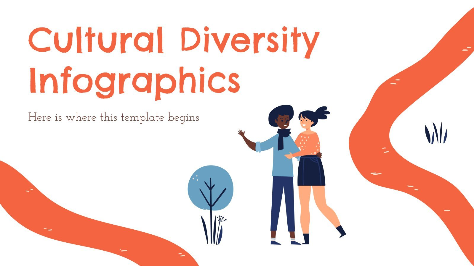 Cultural Diversity Infographics presentation template