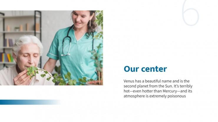 Nurse Academy Center presentation template