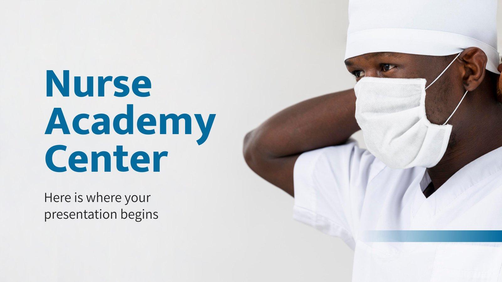 Krankepflegeschule Präsentationsvorlage