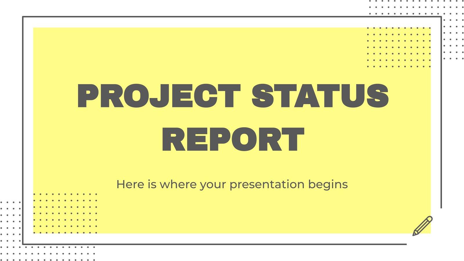 Rapport sur l'état du projet : Modèles de présentation