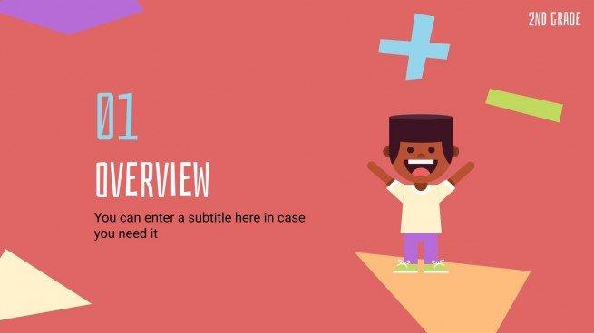 Zahlen und Operationen im Dezilasystem - Mathe für Kinder Präsentationsvorlage