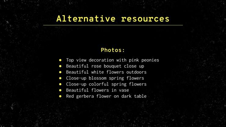 Atelier de style de coupe de fleurs : Modèles de présentation