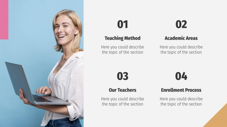 Adult Learning Center presentation template