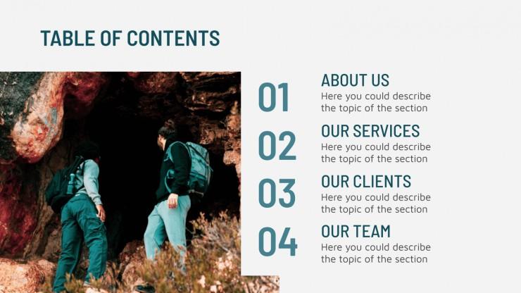 Modelo de apresentação Agência de comunicação