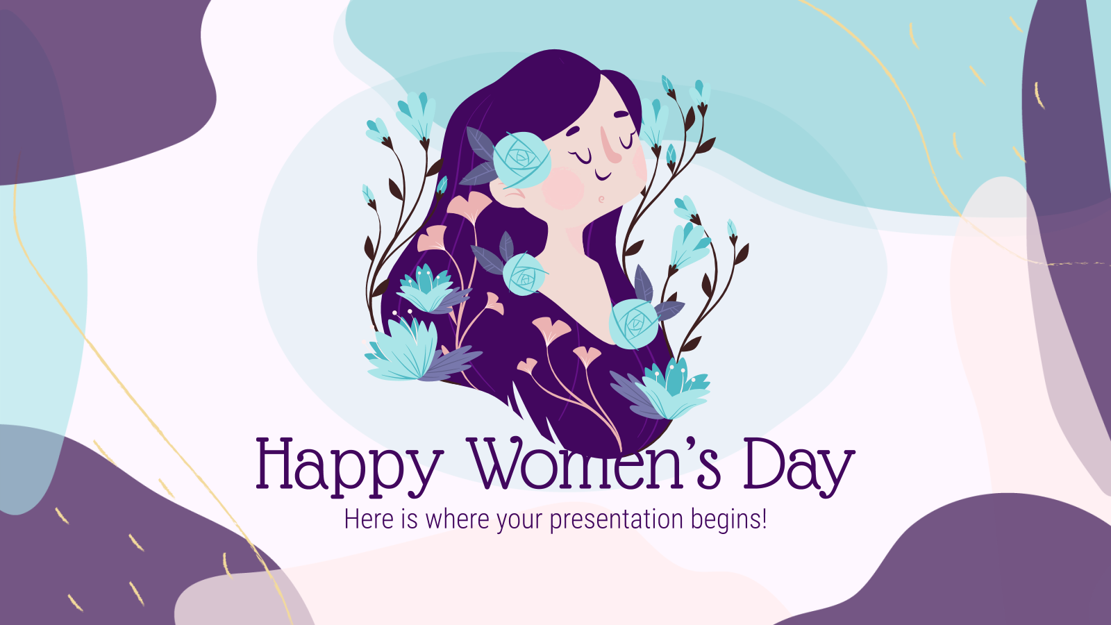 Women's Day Social Media presentation template
