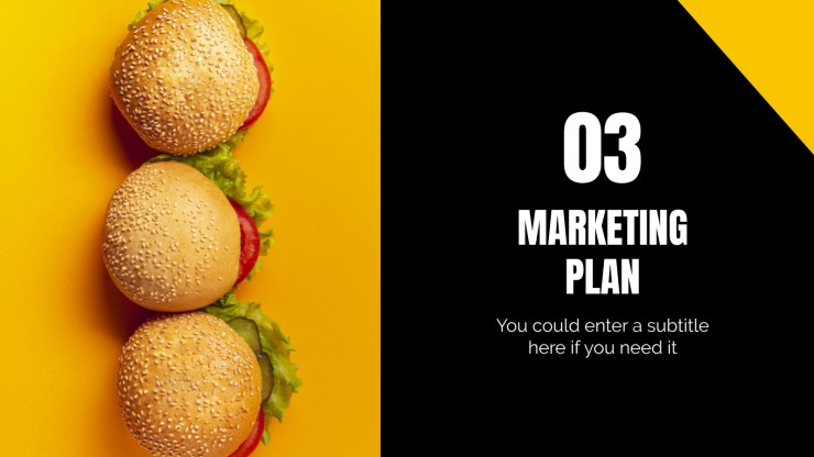 Business plan pour les amateurs de hamburgers : Modèles de présentation