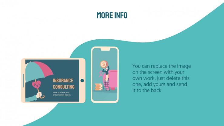 Plantilla de presentación Consultoría de seguros