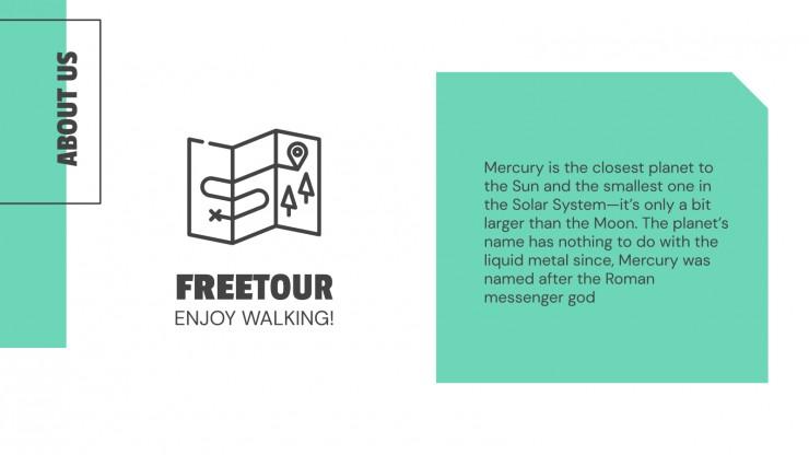 Free Tour Company presentation template