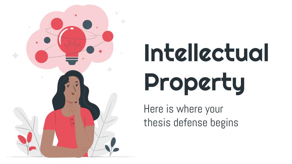 Modelo de apresentação Trabalho sobre propriedade intelectual