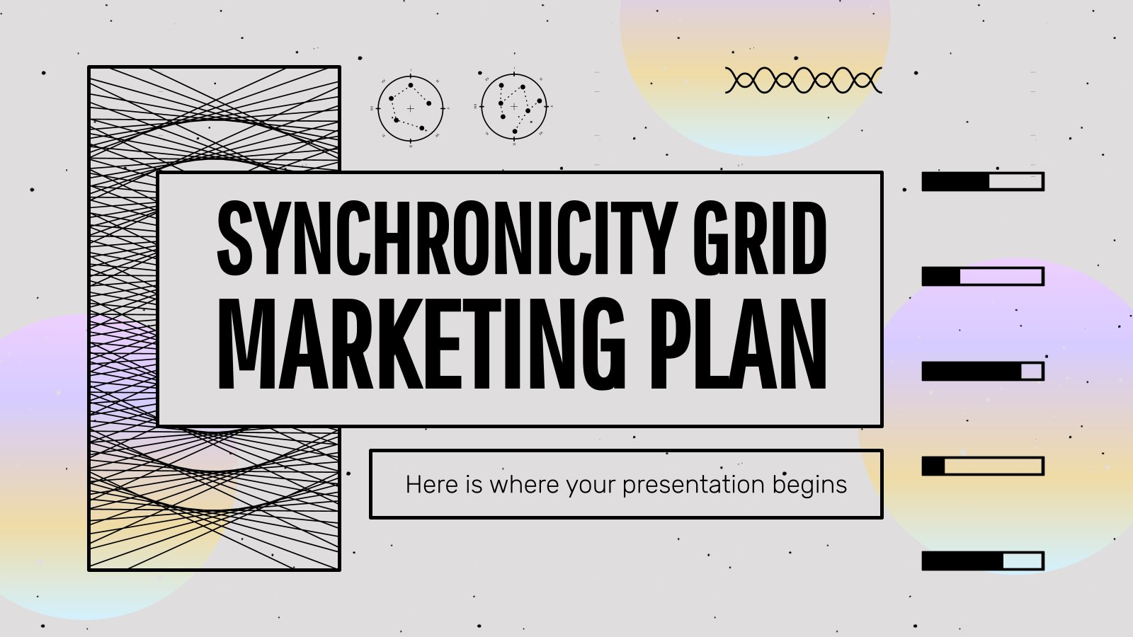 Synchronicity Grid Marketing Plan presentation template