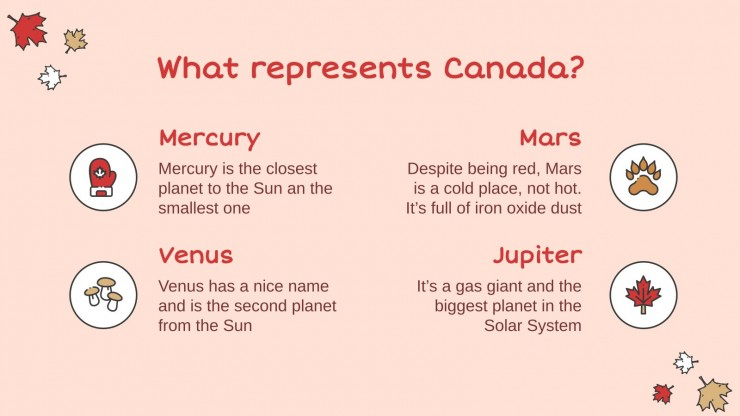 Modelo de apresentação O Dia de Victoria do Canadá!