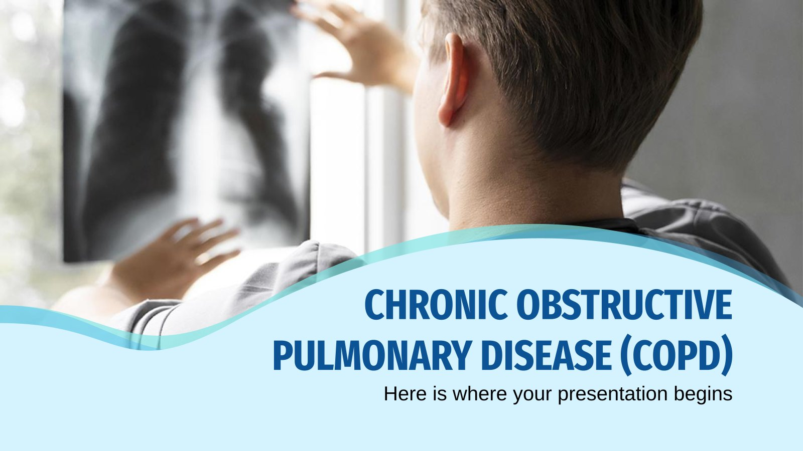 Chronic Obstructive Pulmonary Disease (COPD) presentation template