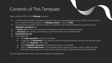 Elegant Laces Project Proposal presentation template