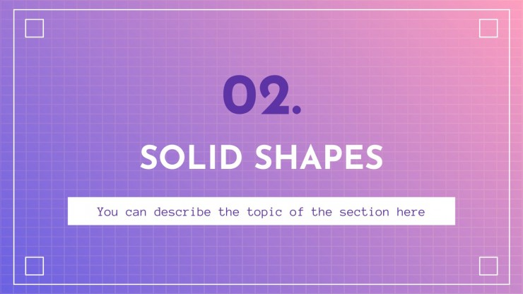 Geometry - Maths for Elementary  2nd Grade presentation template