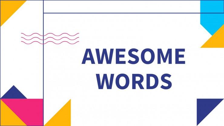 Be Creative Newsletter presentation template