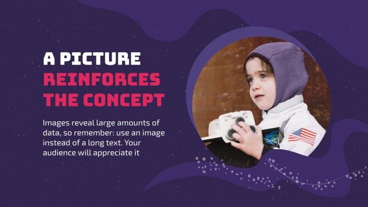 Journée Sally Ride : Modèles de présentation