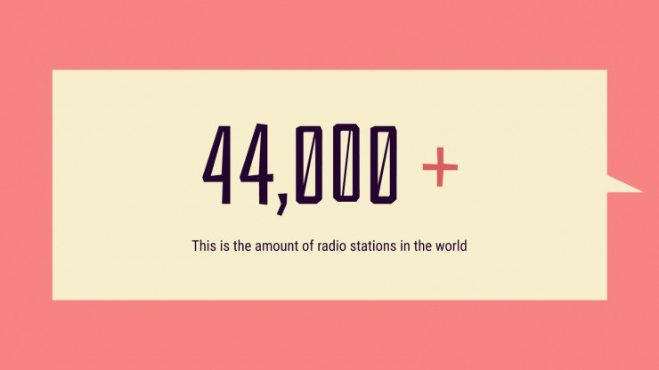 Journée mondiale de la radio : Modèles de présentation