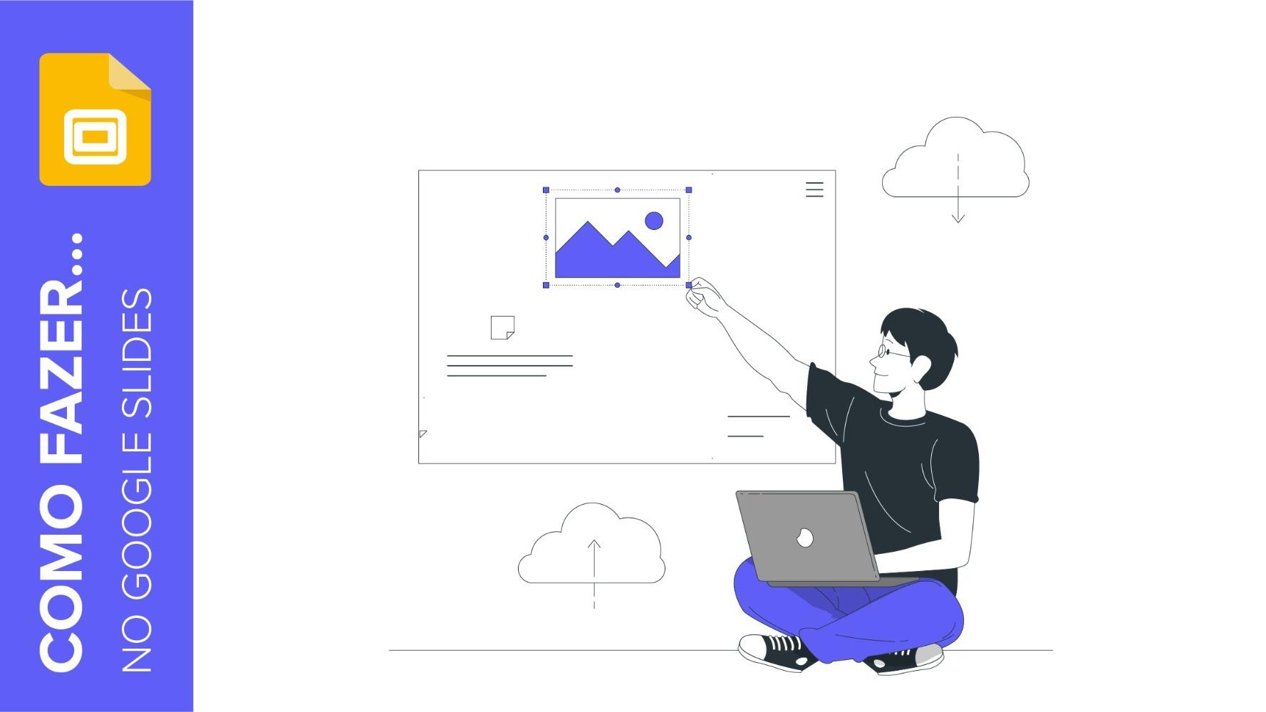 Como trocar a imagem e a cor do plano de fundo no Google Slides | Tutoriais e Dicas de apresentação