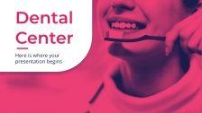Modelo de apresentação Consultório odontológico