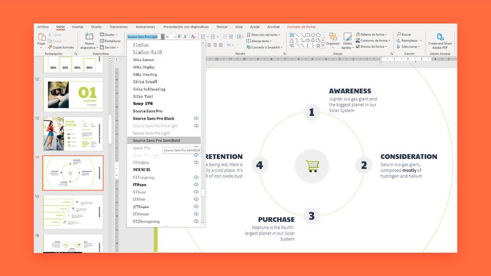 Cómo cambiar, incrustar o añadir fuentes en PowerPoint | Tutoriales y Tips para tus presentaciones