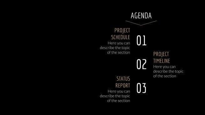 Wabenstruktur-Meeting Präsentationsvorlage