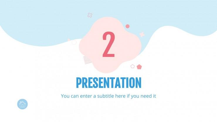 Linic presentation template