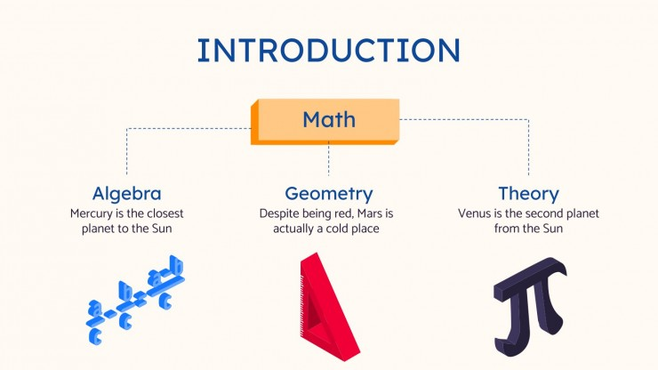 Modelo de apresentação Aulas de matemática