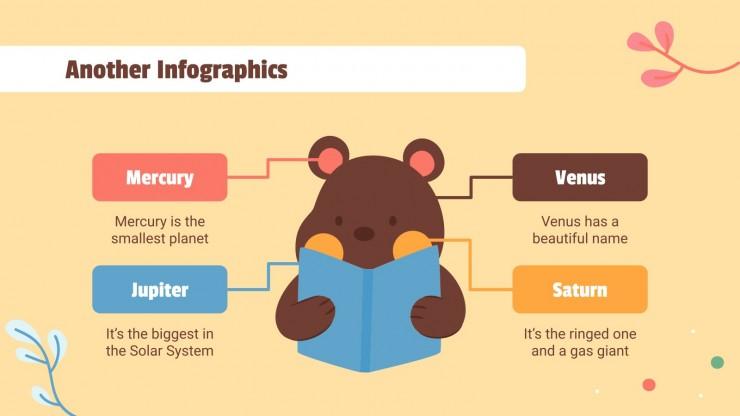 Modelo de apresentação Agenda semanal do ensino primário