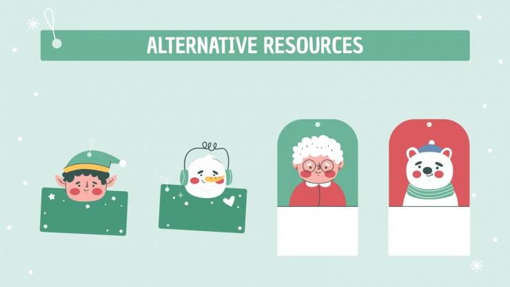 Christmas Survival Kit presentation template