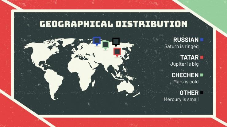 Russian Language Day presentation template