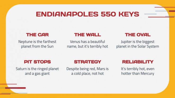 Endianapoles 550 presentation template