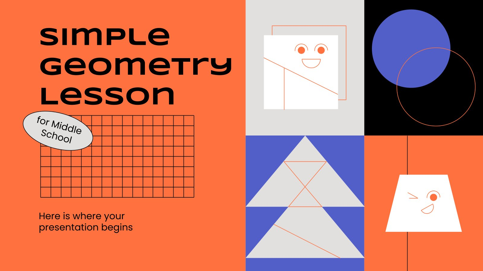 Cours de géométrie pour l'école primaire : Modèles de présentation