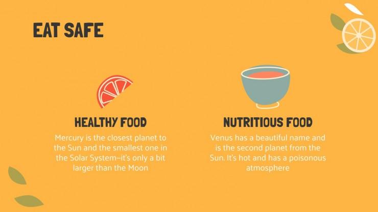 Journée mondiale de la sécurité alimentaire : Modèles de présentation