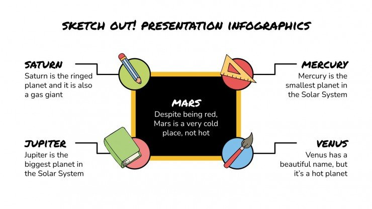 Sketch Out! Infographics presentation template