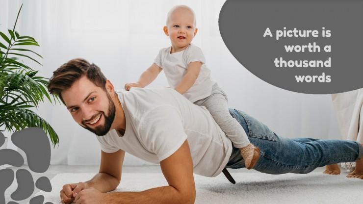 Welt-Elterntag Präsentationsvorlage