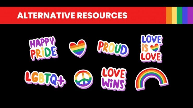 Modelo de apresentação Perfil de empresa inclusiva LGBT+