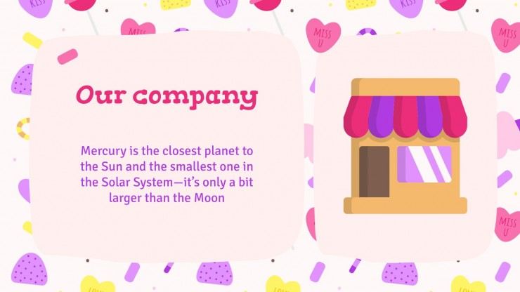 Plan d'affaires du magasin de bonbons : Modèles de présentation
