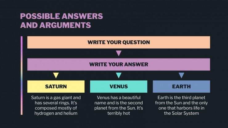 Boîte à outils de conseil en dégradés holographiques : Modèles de présentation