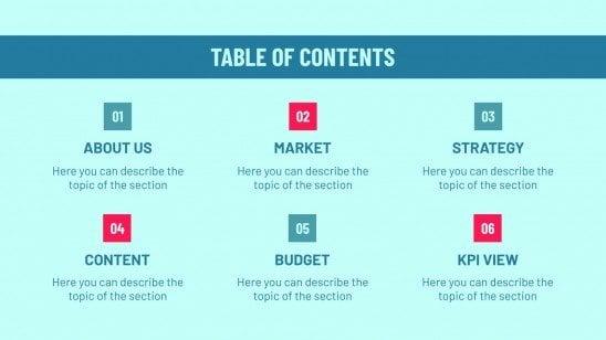 Thematic Cruises Marketing Plan presentation template
