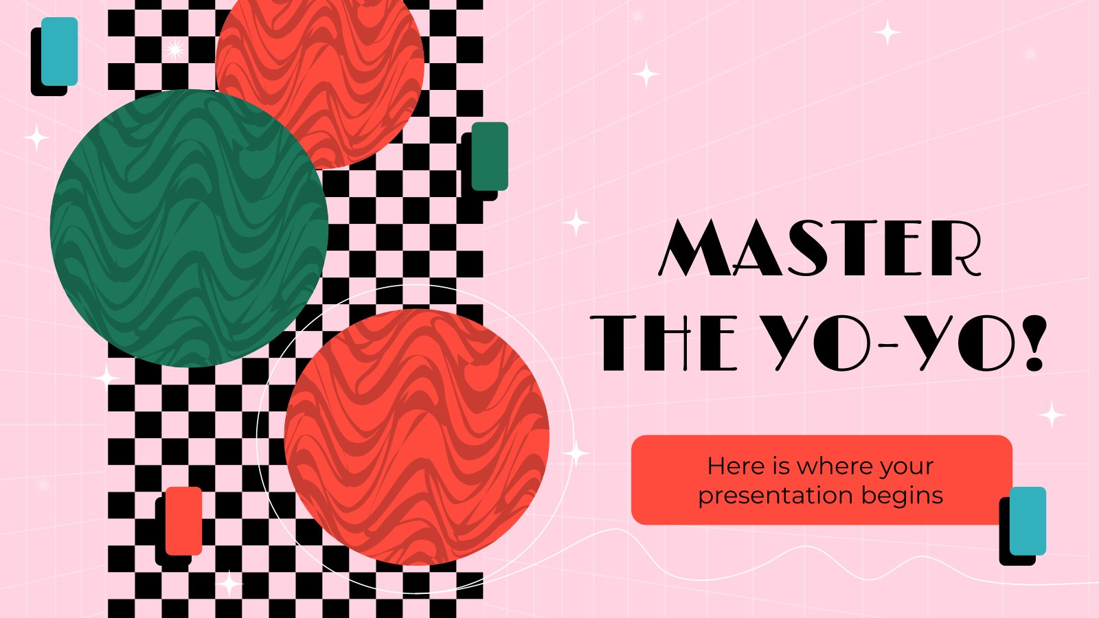 Master the Yo-Yo! presentation template