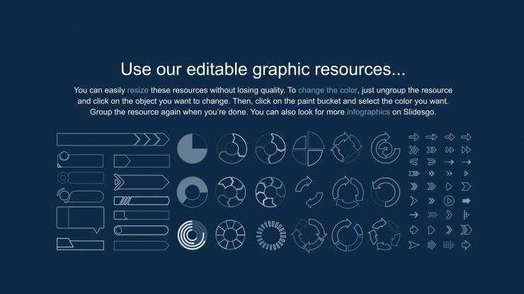 Diapositives de palettes épicées pour le marketing : Modèles de présentation