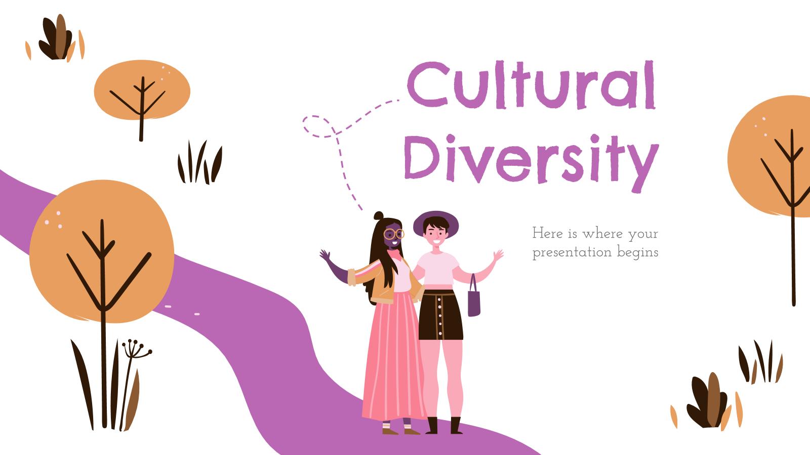 Cultural Diversity presentation template